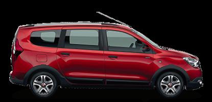 Car rental Dacia Lodgy Gray 7 seats
